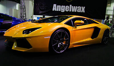Photograph - Yellow Lamborghini Gallardo by Chua  ChinLeng