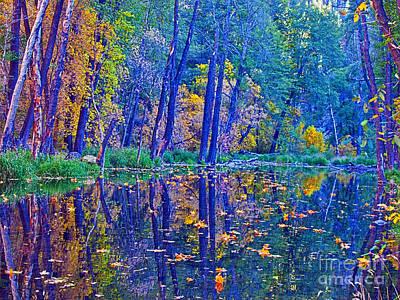 Yellow Leaves Original