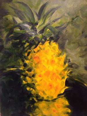 Painting - Yellow Light by Karen Carmean