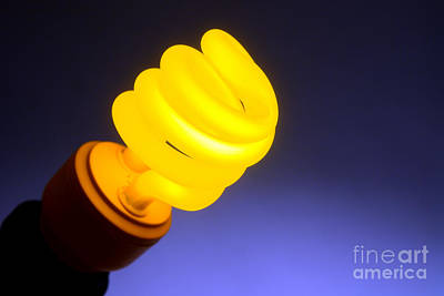 Savings Photograph - Yellow Light by Olivier Le Queinec