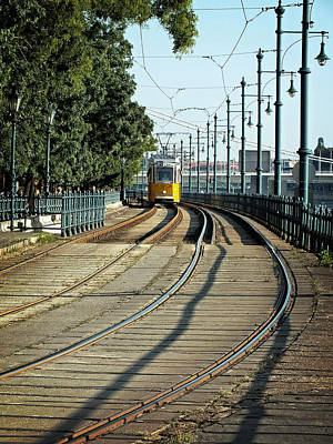 Photograph - Yellow Line - Number 2 by Lucinda Walter