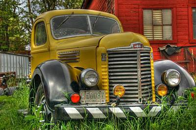 Photograph - Yellow Machine by Patricia Dennis