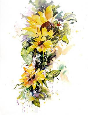 Yellow Majesty Art Print