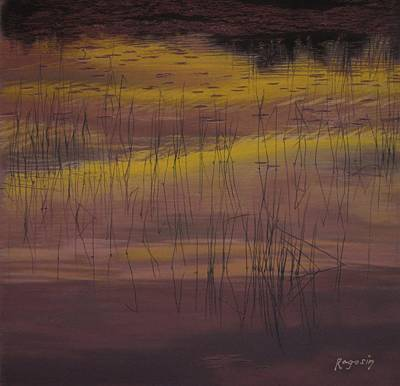 Yellow Marsh Art Print