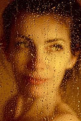 Yellow Mellow Beautiful Women . Viewed 1053 Times. Art Print by  Andrzej Goszcz