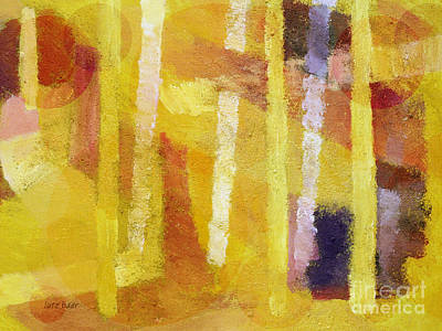 Baar Mixed Media - Yellow Mood by Lutz Baar