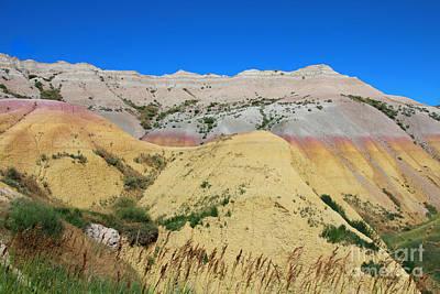 Yellow Mounds Badlands National Park Original by Jemmy Archer