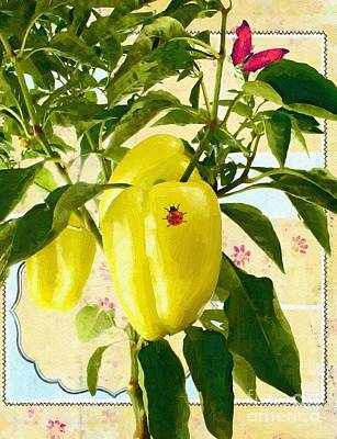 Painting - Yellow Pepper by Liane Wright