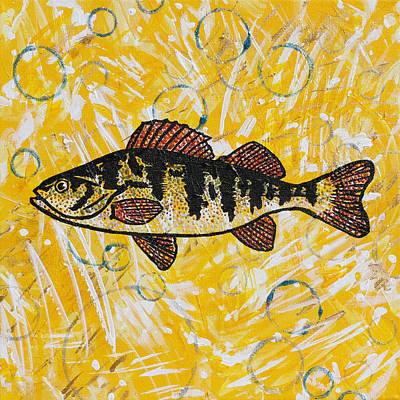 Painting - Yellow Perch by Julianne Hunter