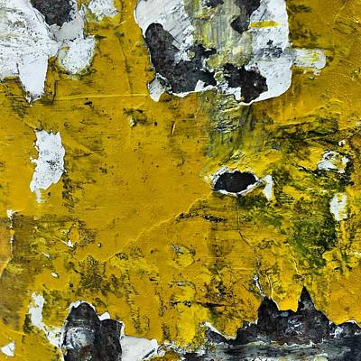 Abstract Wall Art - Photograph - Yellow Post by Jason Michael Roust