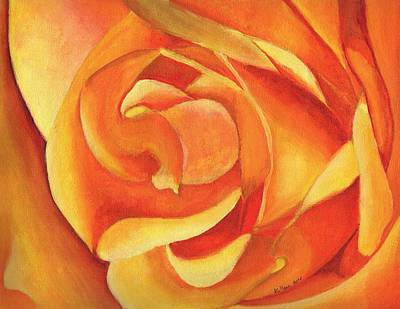 Painting - Yellow Rose #3 by William Killen