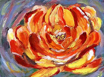 Painting - Yellow Rose by Jamie Frier