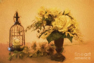 Photograph - Yellow Rose by Linda Blair