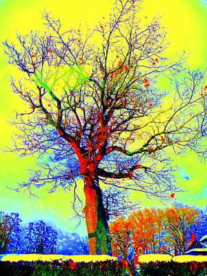 Art Print featuring the photograph Yellow Sky by Jodie Marie Anne Richardson Traugott          aka jm-ART