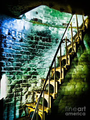 Photograph - Yellow Stairs by Colleen Kammerer