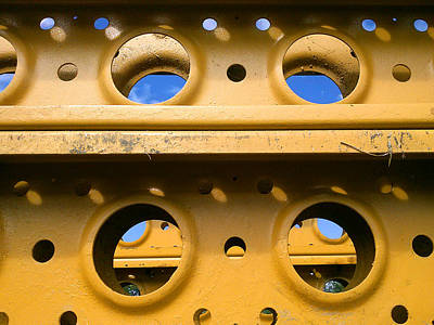 Photograph - Yellow Steel Two by Steve Sperry