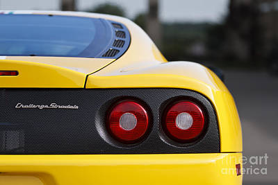 Photograph - Yellow Stradale by Dennis Hedberg