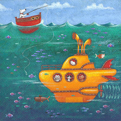 Yellow Submarine Art Print