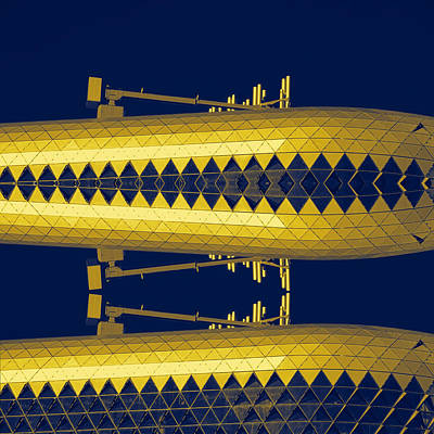 Photograph - Yellow Subs by Wayne Sherriff
