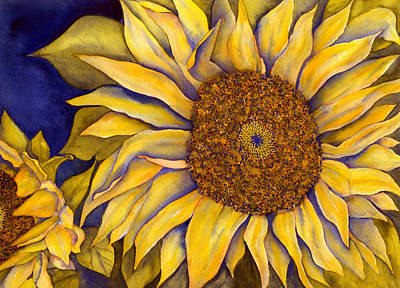Painting - Yellow Sunflower by Diane Ferron