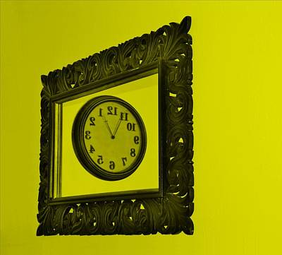 Photograph - Yellow Time Frame by Rob Hans