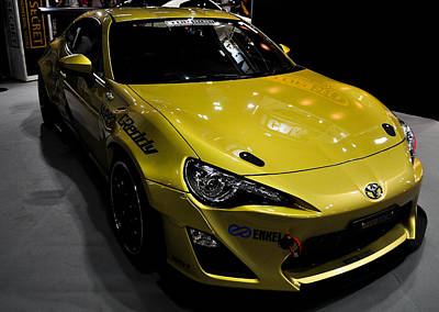 Photograph - Yellow Toyota Gt86 by Chua  ChinLeng
