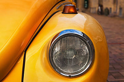 Photograph - Yellow Vw Beetle by Stefan Nielsen