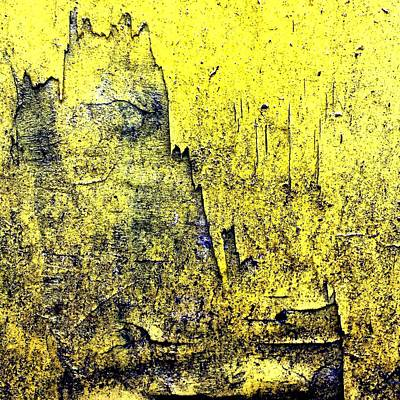 Artwork Wall Art - Photograph - Yellow Wall 2 by Jason Michael Roust