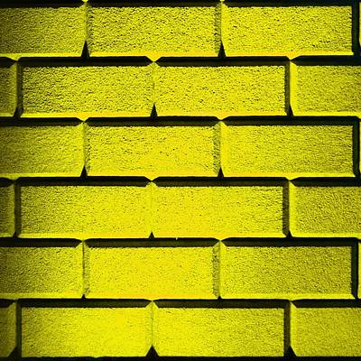 Yellow Wall Art Print