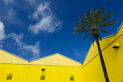 Photograph - Yellow Warehouse by David Smith