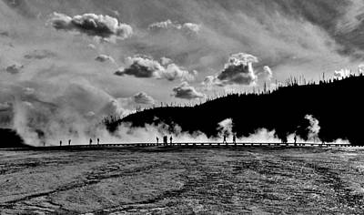 Photograph - Yellowstone Adventurers by Benjamin Yeager
