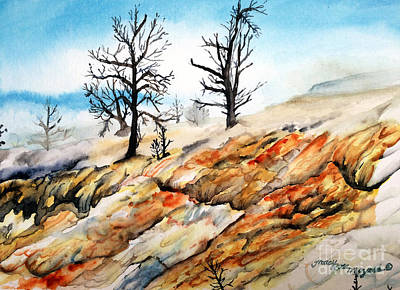 Painting - Yellowstone Beauty by Tracy Rose Moyers