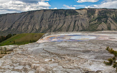 Photograph - Yellowstone Contrasts by John M Bailey