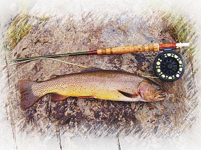 Photograph - Yellowstone Cutthroat Trout by Joe Duket