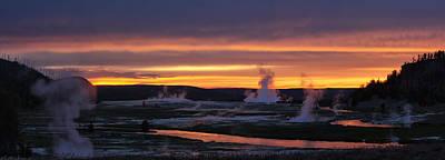 Photograph - Yellowstone by Darryl Wilkinson