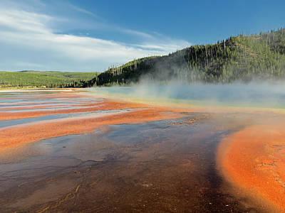 Mud Season Photograph - Yellowstone Geyser by Mountain Dreams