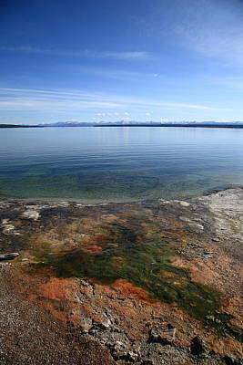 Photograph - Yellowstone Lake by Frank Romeo