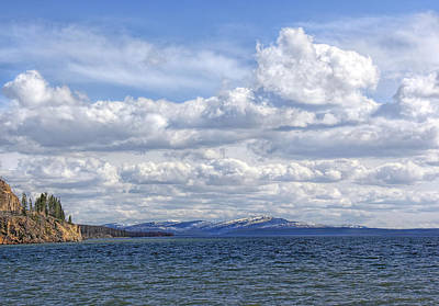 Photograph - Yellowstone Lake by Jennie Marie Schell