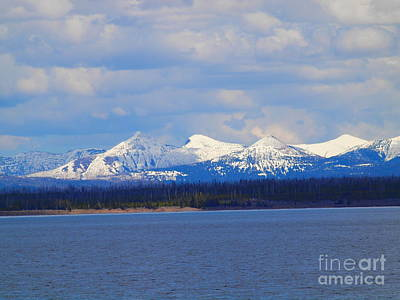 Photograph - Yellowstone Lake by Tammy Bullard