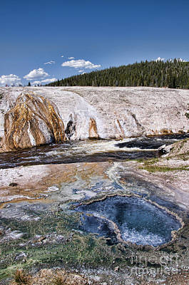 Photograph - Yellowstone Landscape by Brenda Kean