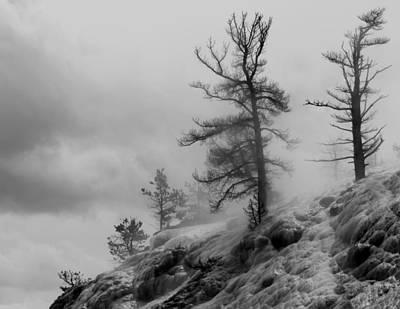 Yellowstone Moonscape Ynp Art Print by Bill Keiran