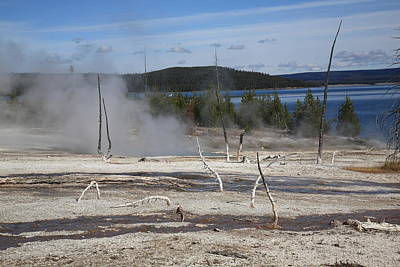 Photograph - Yellowstone National Park - Hot Springs by Frank Romeo