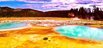 Photograph - Yellowstone National Park by Monique's Fine Art