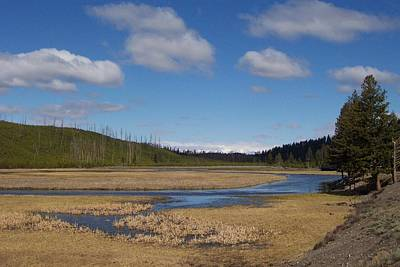 Photograph - Yellowstone Park 2 by Kenneth Cole
