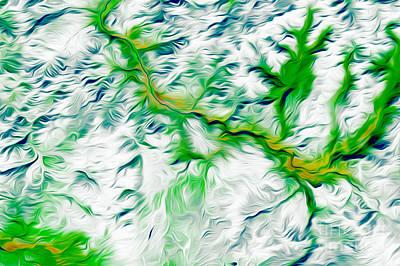 Yellowstone Digital Art - Yellowstone by Phill Petrovic