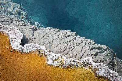 Yellowstone Pool Art Print