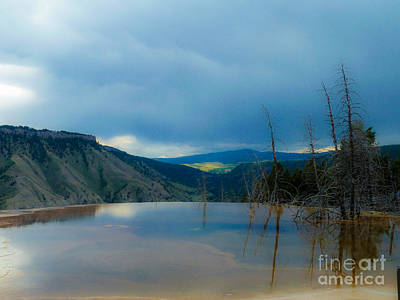 Photograph - Yellowstone Pool by Rob Heath