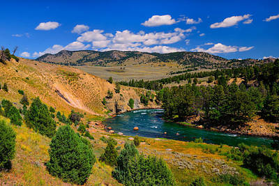 Photograph - Yellowstone River Bend by Greg Norrell