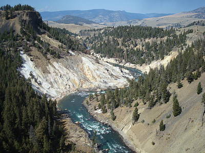 Photograph - Yellowstone River by Susan Woodward