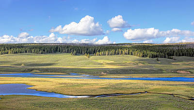 Photograph - Yellowstone River Valley by Jennie Marie Schell